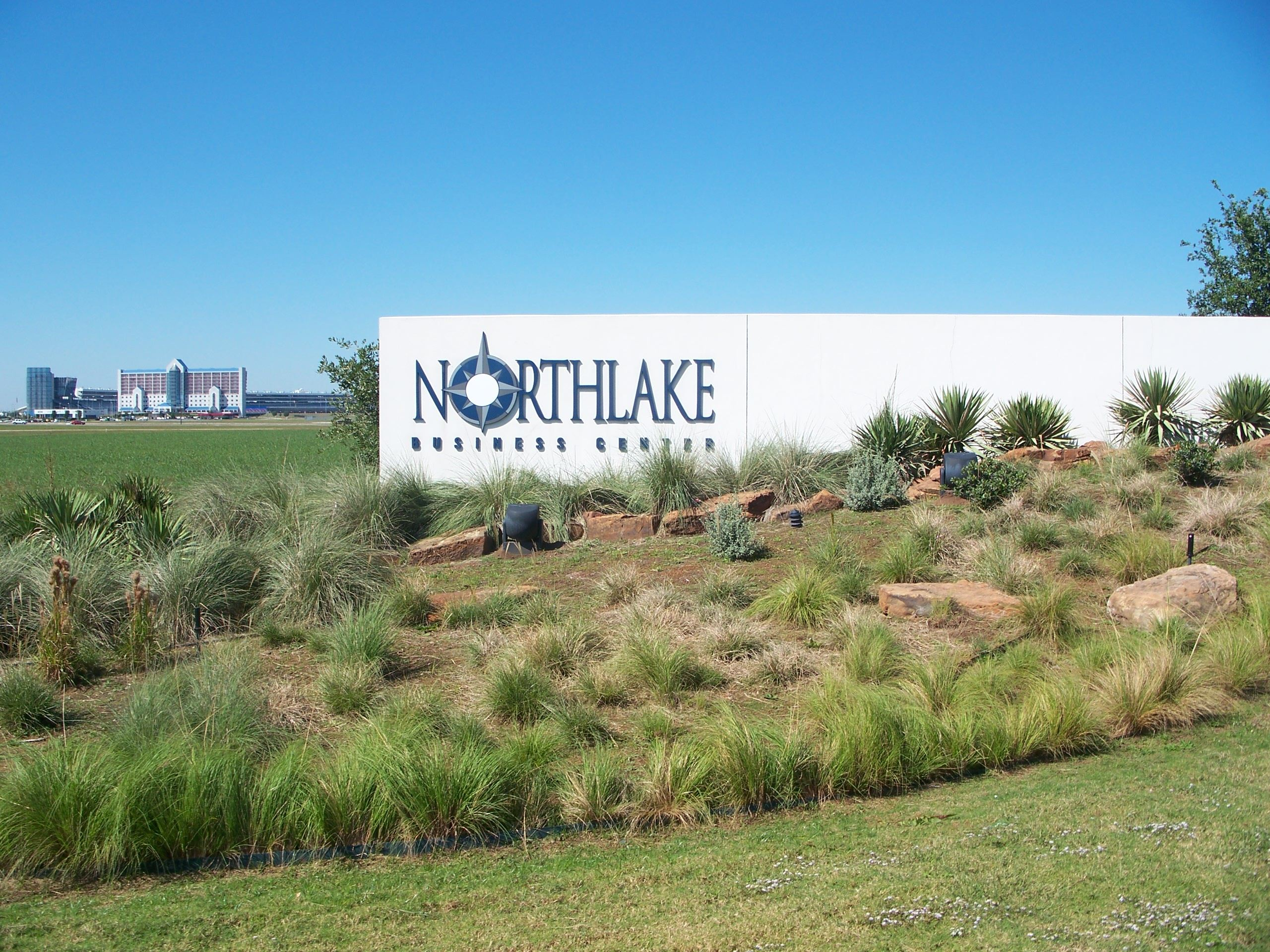 Northlake Business Center Sign